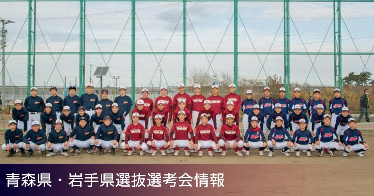 青森県・岩手県選抜選考会情報2021