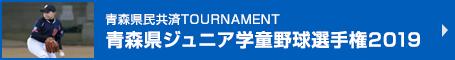 青森県民共済TOURNAMENT 青森県ジュニア学童野球選手権2019