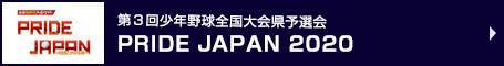 PRIDE JAPAN 2020 第3回少年野球全国大会県予選